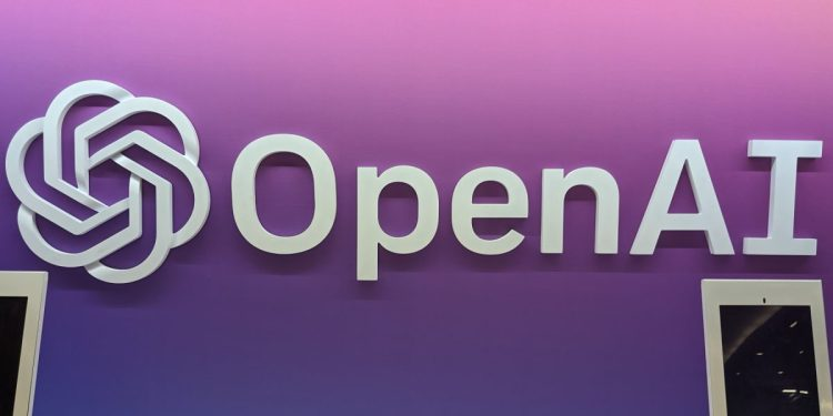 OpenAI booth at NeurIPS 2019 in Vancouver, Canada