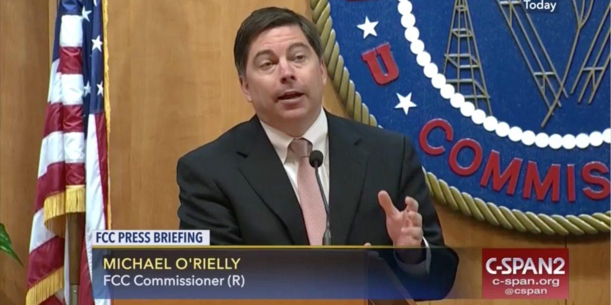 FCC commissioner Michael O'Rielly.