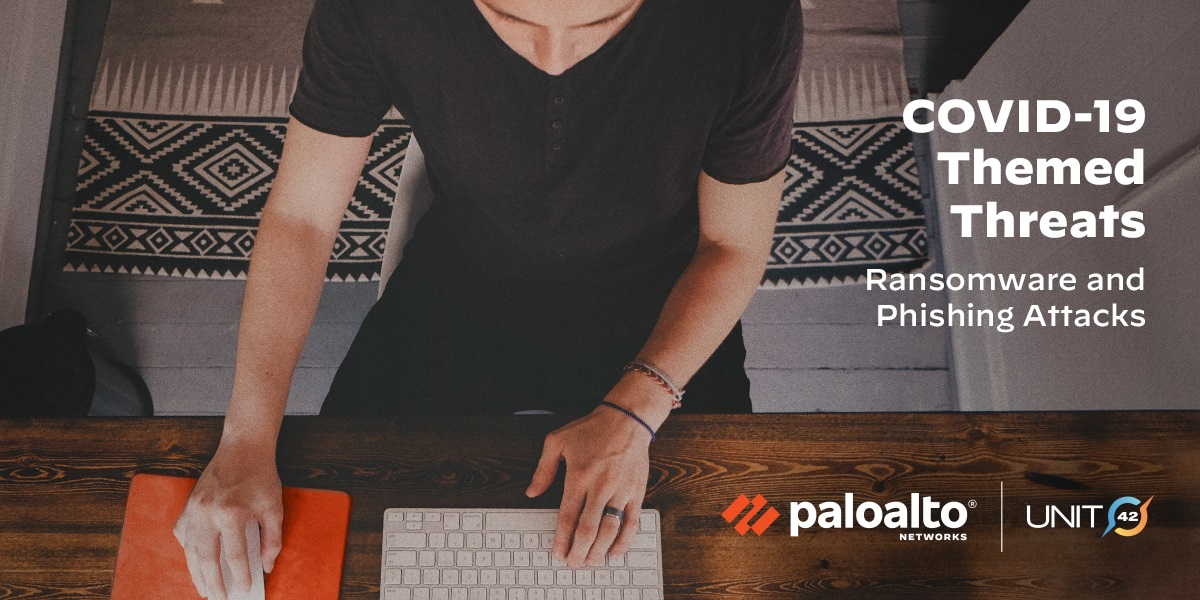 Palo Alto Networks' Unit 42 is warning about Covid-19 scams.