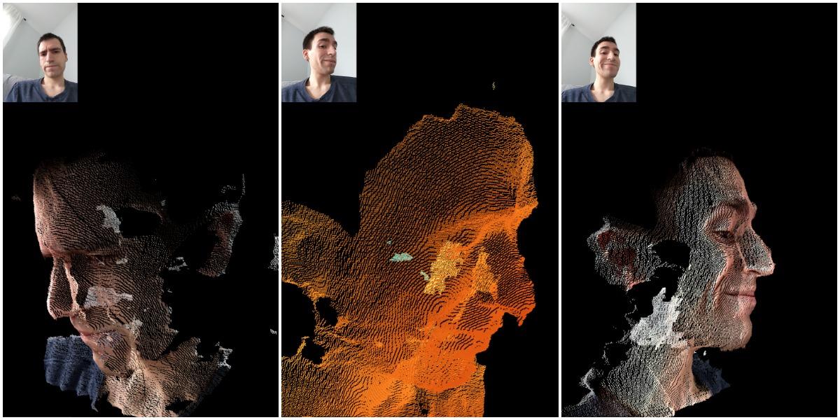 Google Pixel 4 uDepth