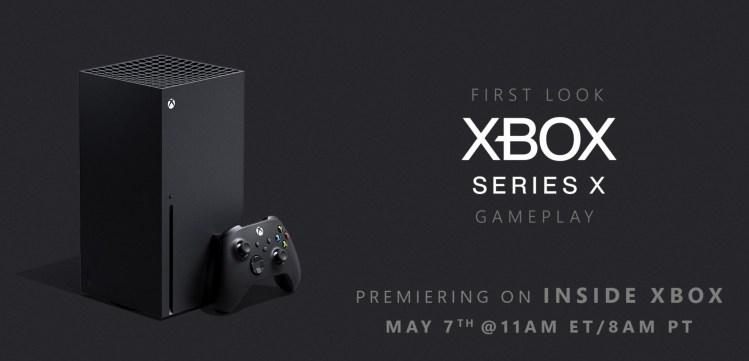 Xbox Series X reveal.