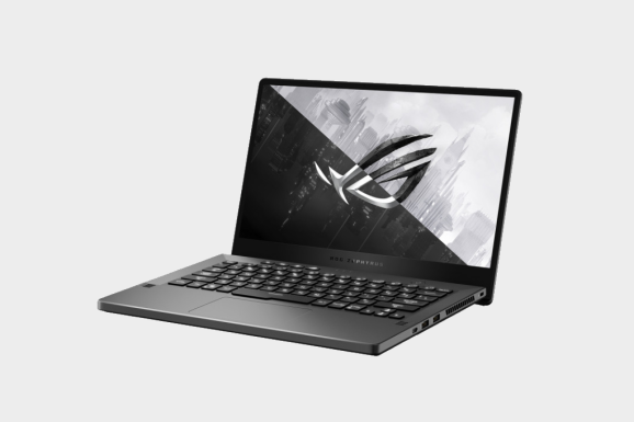 The new Zephyrus G14 gaming laptop from Asus ROG.