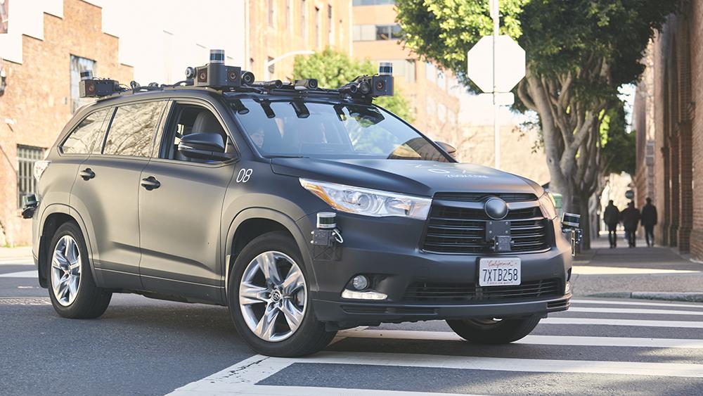 Zoox Toyota Highlander