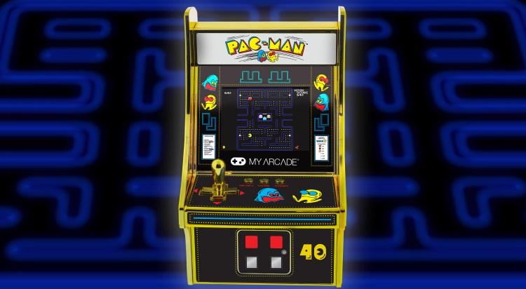 MyArcade is celebrating Pac-Man's 40th anniversary.