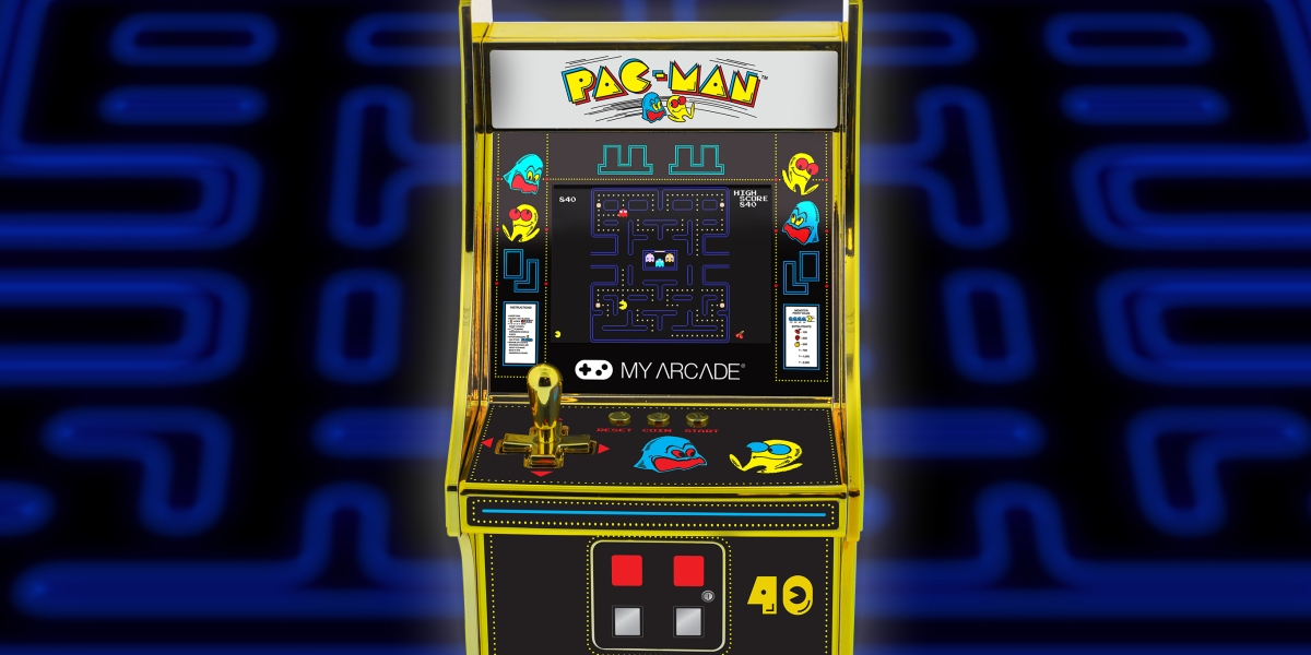 MyArcade is celebrating Pac-Man's 40th anniversary.