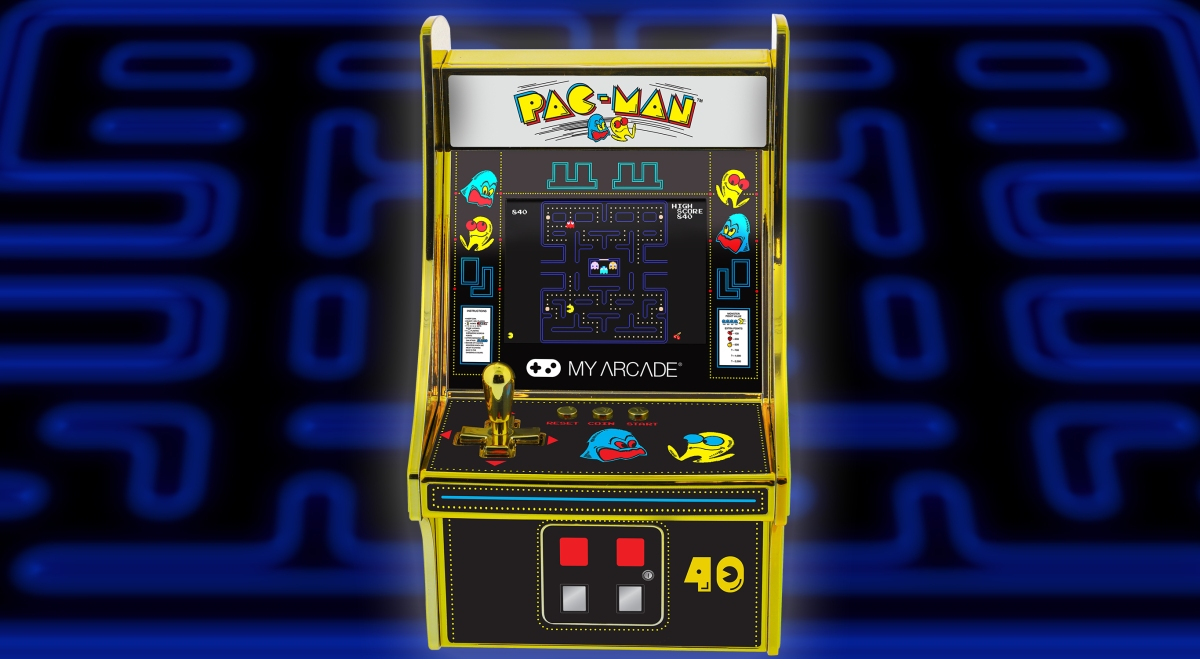 photo of The RetroBeat: I want to celebrate Pac-Man's 40th birthday with this tiny cabinet image
