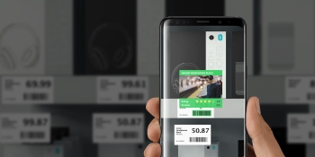 Scandit retail product rating: AR in action