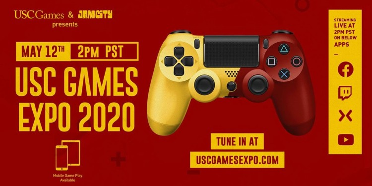 USC Games Expo 2020 is online only on May 12.
