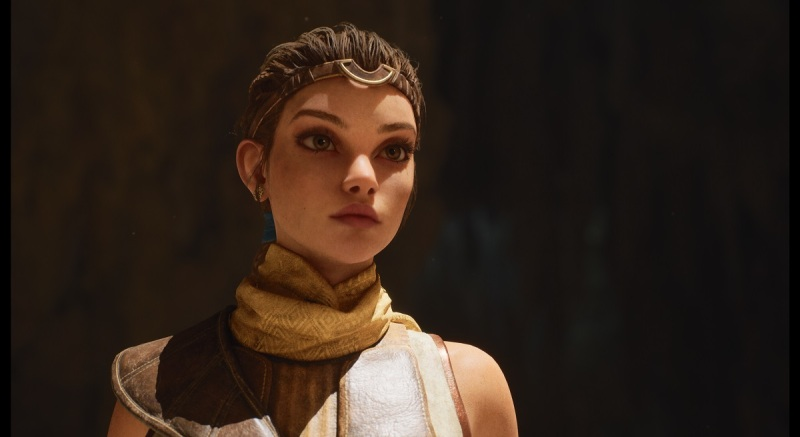 The Unreal Engine 5 will produce outstanding imagery for the PlayStation 5.