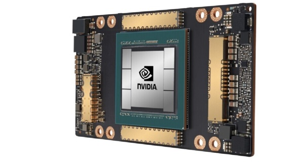 Nvidia's A100 chip has 54 billion transistors.