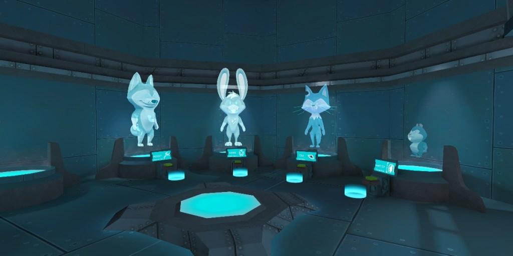 Las criaturas de Adventure Lab