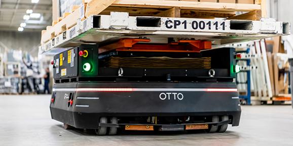 Otto Motors raises $29 million to staff warehouses with autonomous mobile robots