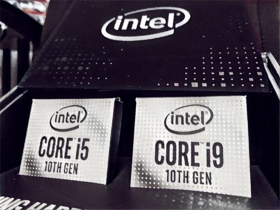 Intel drops its 10th-gen Core CPUs.