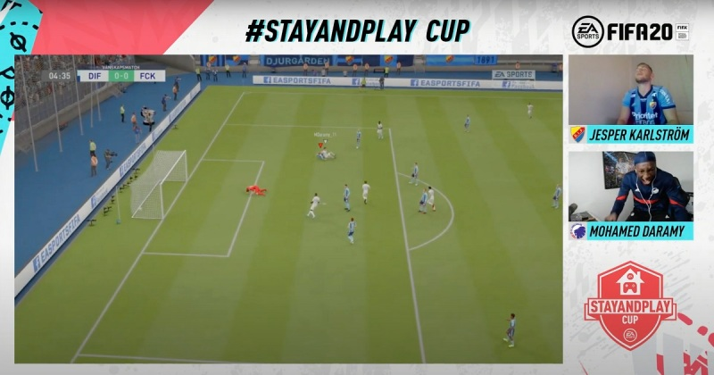 EA Stay and Play Cup for FIFA 20.