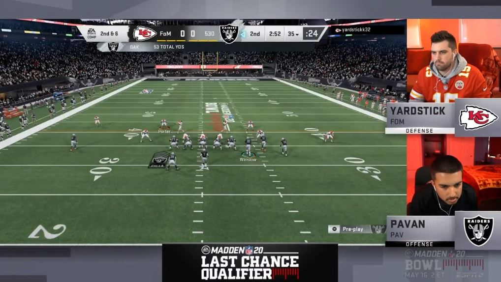 EA's Madden NFL is one of its biggest esports titles.