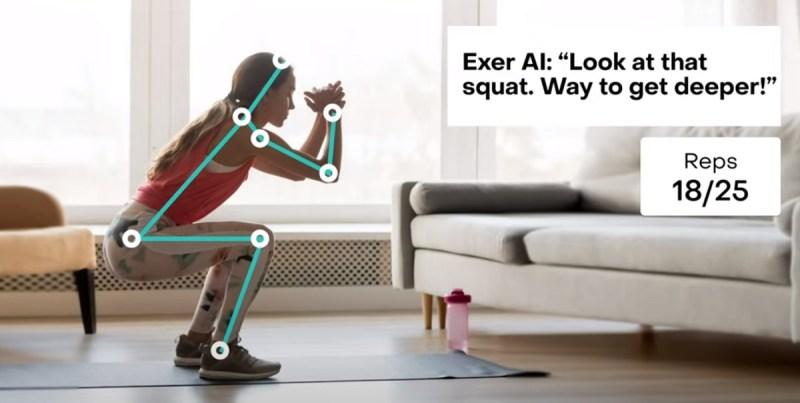 Nowa aplikacja z AI od Exer pomoże Ci w domowych treningach
