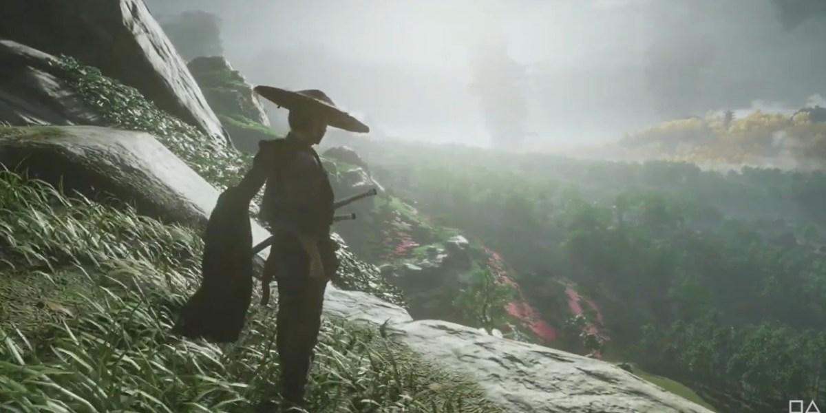 Jin Sakai can explore the island of Tsushima.