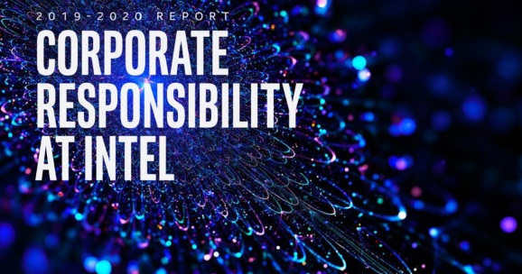 Intel's latest corporate responsibility report sets goals for 2030.