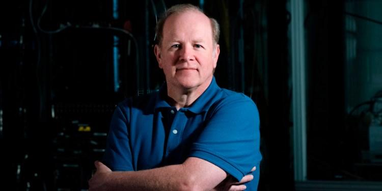 IonQ CEO Peter Chapman