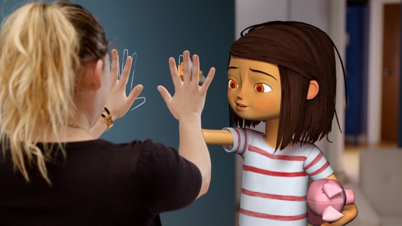 Lucy is a virtual being created by Fable Studio.