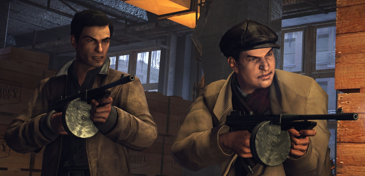 Vito Scaletta (left) is the main character of Mafia II: Definitive Edition.