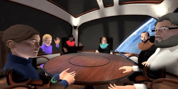 MeetinVR lets you hold meetings in VR.
