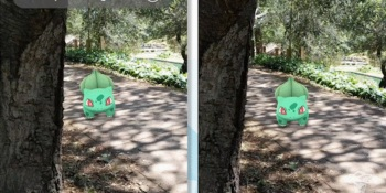 Niantic's reality blending tech lets Pokemon creatures hide.