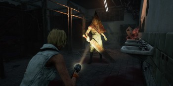 Pyramid Head in Dead by Daylight.