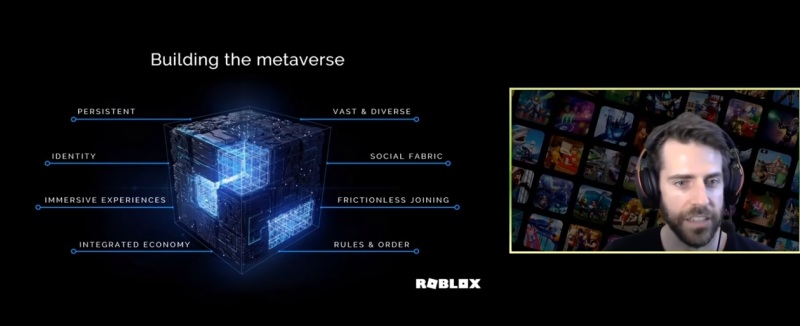 Roblox wants players to build the Metaverse.