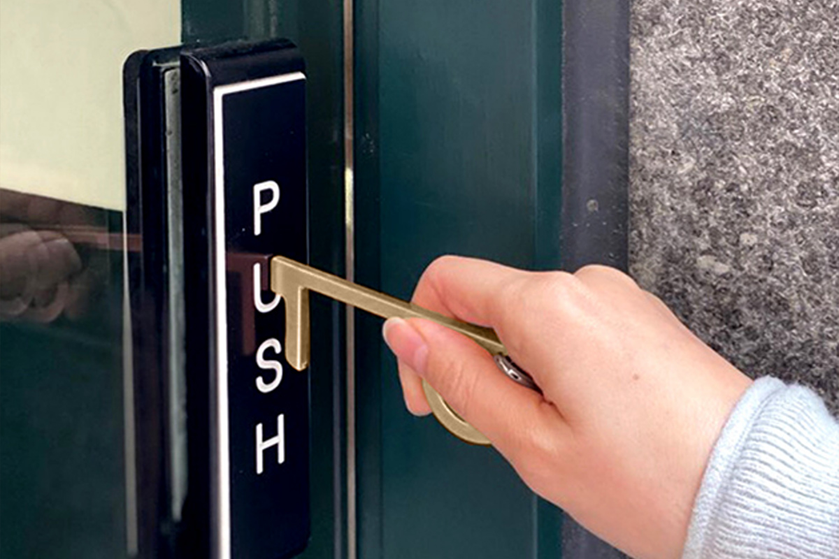 Image of article 'Push buttons and open doors safely with this $20 antimicrobial tool'