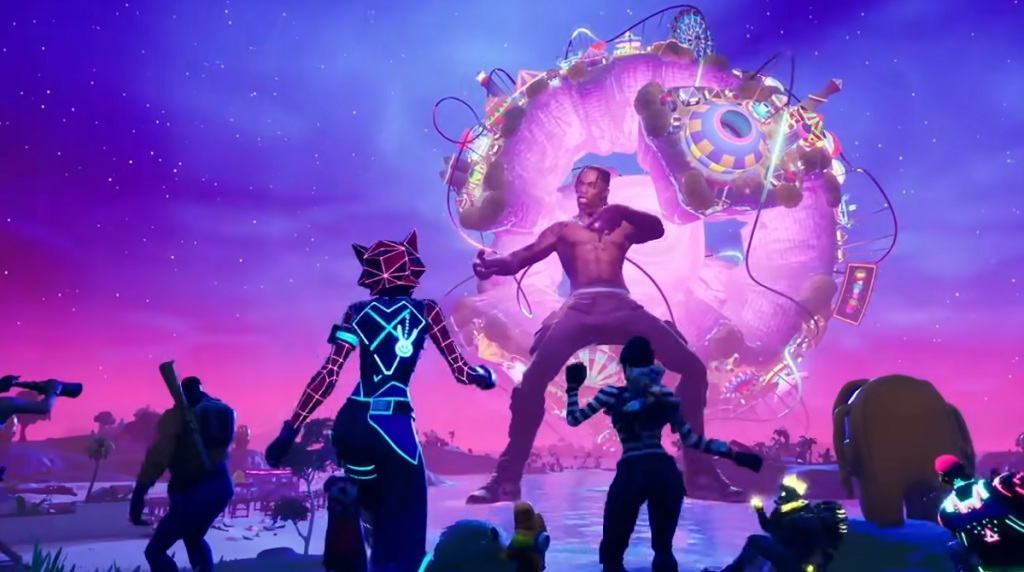 Travis Scott's concert in Fortnite drew 27.7 million viewers.