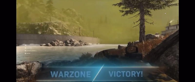 I've only one a single Warzone match so far.