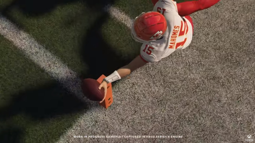 Kansas City Chiefs QB looks like a champion in Madden NFL 21.