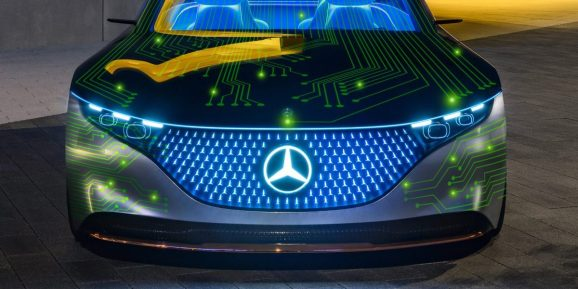 Nvidia Mercedes-Benz self-driving