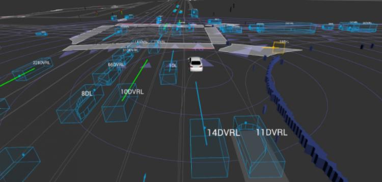 Lyft autonomous vehicle data set