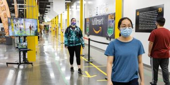 Amazon unveils Distance Assistant, an open source platform to enforce physical distancing among workers