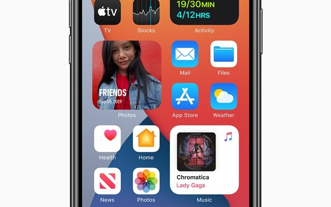 Apple's new widgets in iOS 14