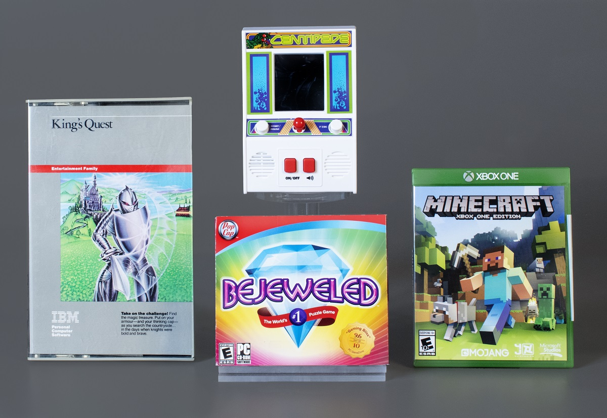 Video Game Hall of Fame's 2020 class: Bejeweled, Centipede, King's Quest, and Minecraft