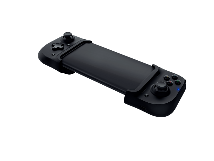 The Razer Kishi mobile-gaming controller dock.