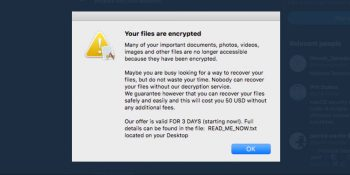EvilQuest Mac ransomware impersonates Google, Apple OS processes