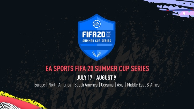 The FIFA 20 Summer Cup series takes place July 17 to August 9.