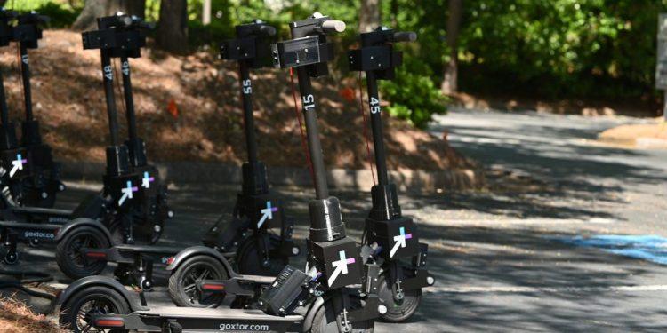 Go X Apollo scooters in Peachtree Corners, Ga.