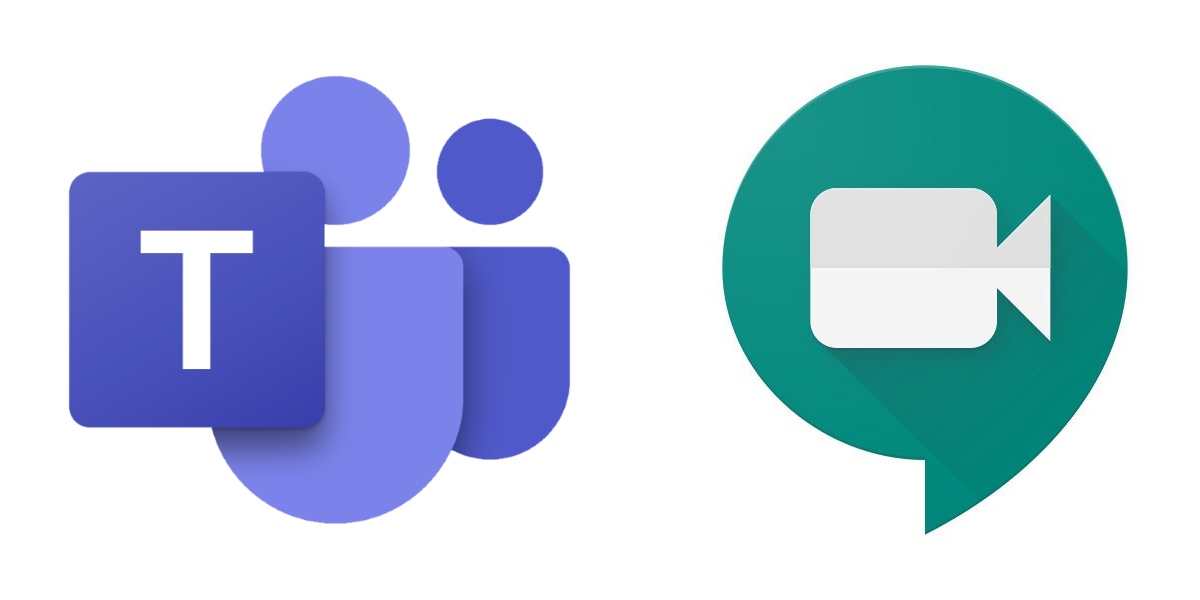 Microsoft Teams and Google Meet