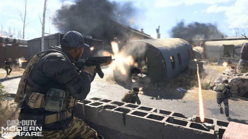 The Zhokov map in Modern Warfare.
