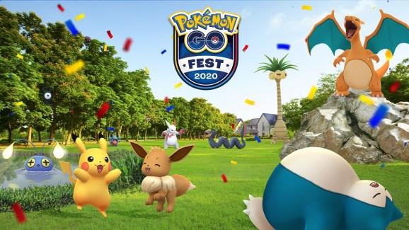 Niantic's Pokemon Go Fest 2020