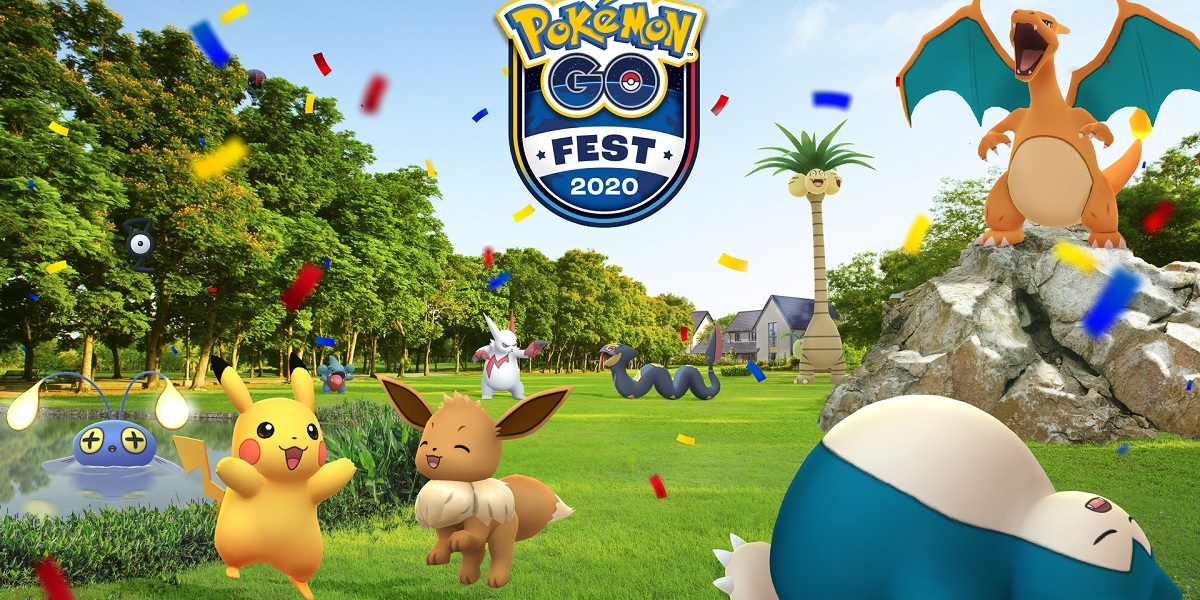 Niantic's Pokemon Go Fest 2020