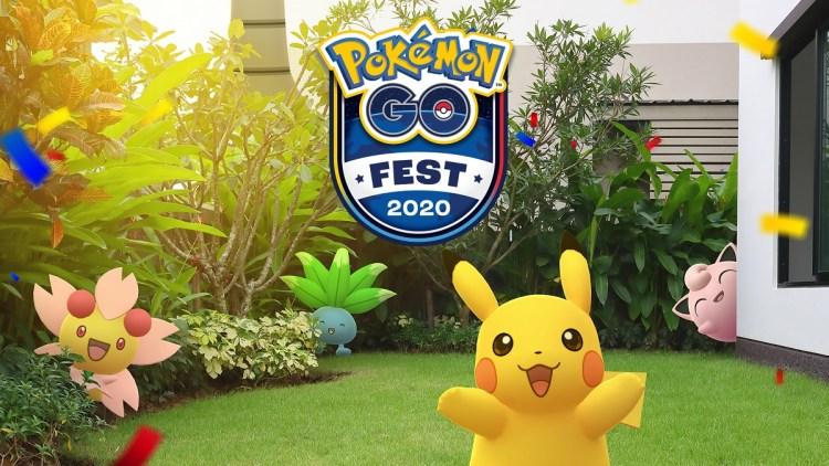 Pokemon Go Fest 2020 is a virtual event.