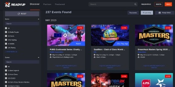 ReadyUp launches platform to keep track of esports and gaming events