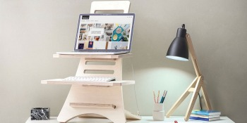 Tired of hunching over your laptop? Fix your posture with this affordable standing desk