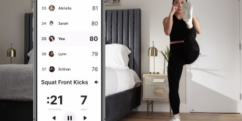 This fitness app can count your reps and even critique your form